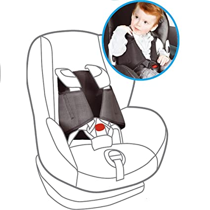 5 Point Plus Car Seat Anti Escape System 2.5-4 years old (Black): 5