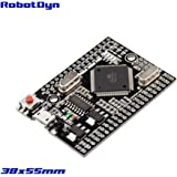 RobotDyn - Mega 2560 PRO (Embed) CH340G/ ATmega2560-16AU, Compatible for Arduino Mega 2560 R3 with Bootloader (with male pinheaders)