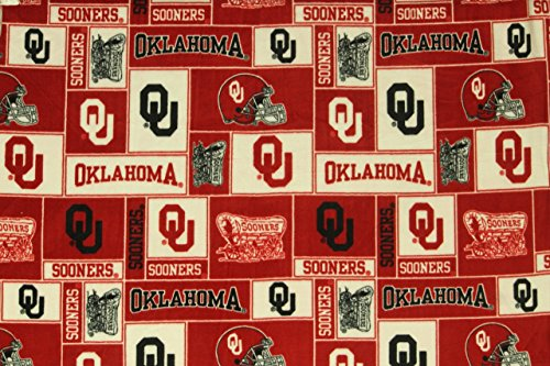 Ncaa Fleece Fabric - 9
