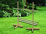 FiNeWaY 1.7M LARGE WOODEN LIMBO GAME POLE BAR PUB KIDS ADULTS GARDEN PARTY FUN by FiNeWaY