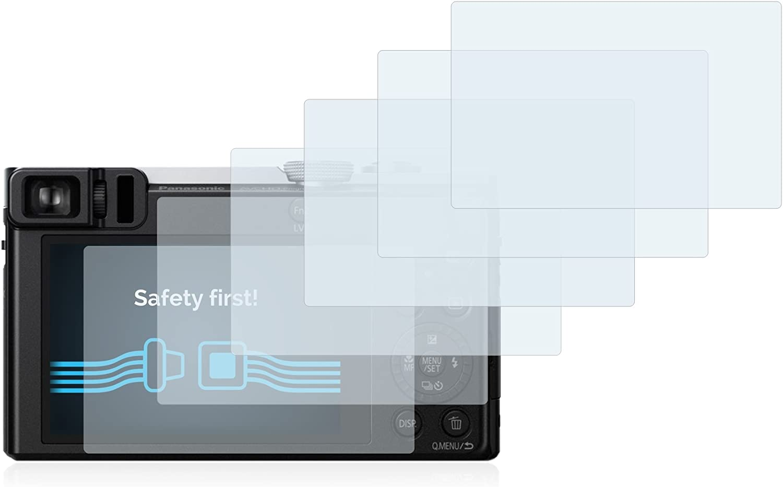6x Pellicola Protettiva per Panasonic Lumix DMC-TZ60 Protezione Proteggi Schermo