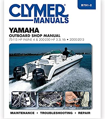 Clymer Yamaha 75-225 HP Four-Stroke Outboards 2000-2004: Amazon ca