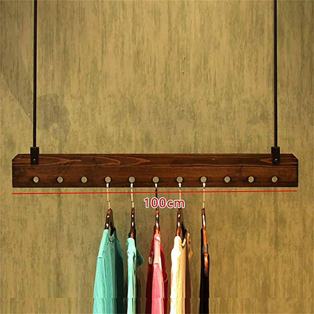 Amazon.com: GJ-bgymj - Perchero de madera para colgar en la ...