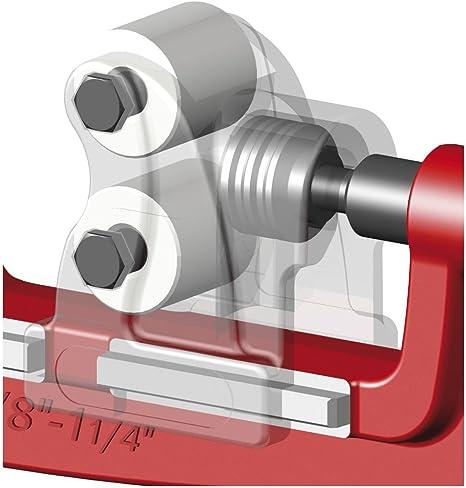 1//8-2 Zoll Dönges Rohrabschneider für Stahl und INOX-Rohre