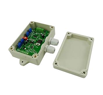 Aihasd Transmisor de pesaje Amplificadores Sensor de peso Voltaje Corriente convertidores 0-5V 0-10V 4-20MA: Amazon.es: Electrónica