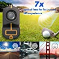 Zamkol Golf Laser Rangefinder, 1000 Yards Laser Rangefinder,IP54 Laser Binoculars for Hunting,Multi-Function Hunting Rangefinder with Speed/Vertical Height/Angle/Horizontal Distance Measurement from Innermost