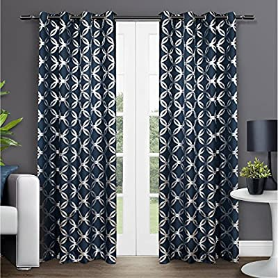 Exclusive Home Modo Grommet Top Curtain Panel Pair
