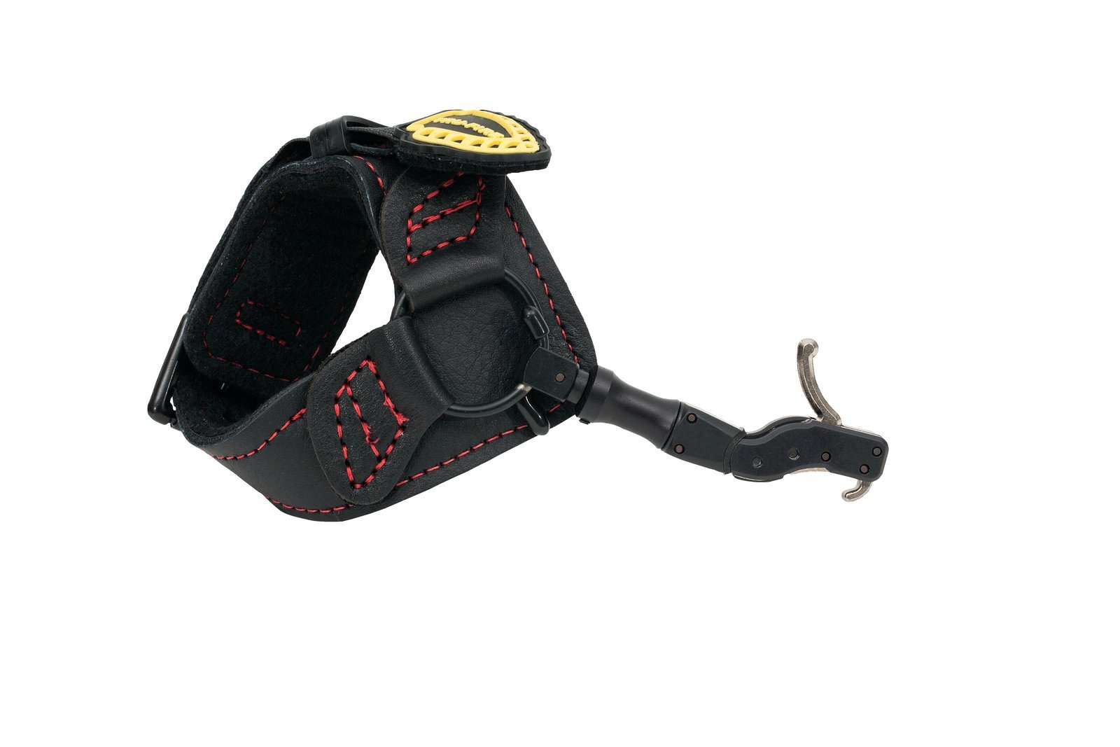 TruFire Hardcore Buckle Foldback Adjustable Archery Compound Bow Release - Black Wrist Strap with Foldback Design by Carbon Express (Image #1)