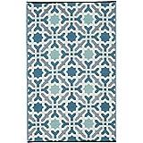 Siviglia - Multicolore – Blu (90cm x 150cm)