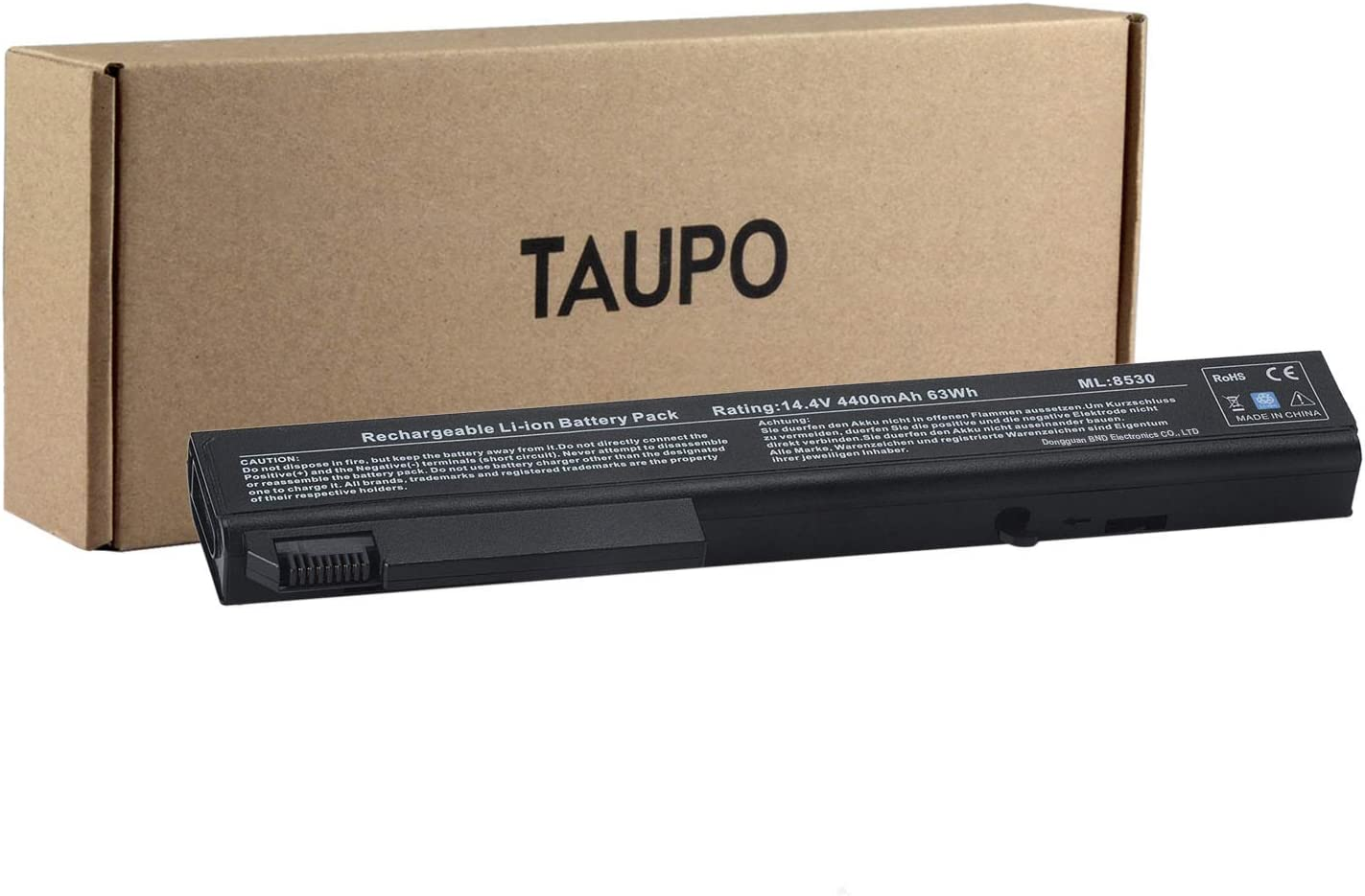 TAUPO 493976-001New Laptop Battery Compatible with HP EliteBook 8530p 8540p 8730w 8530w 8540w, ProBook 6545b,fit 493976-001 AV08 AV08XL KU533AA HSTNN-LB60 HSTNN-XB60