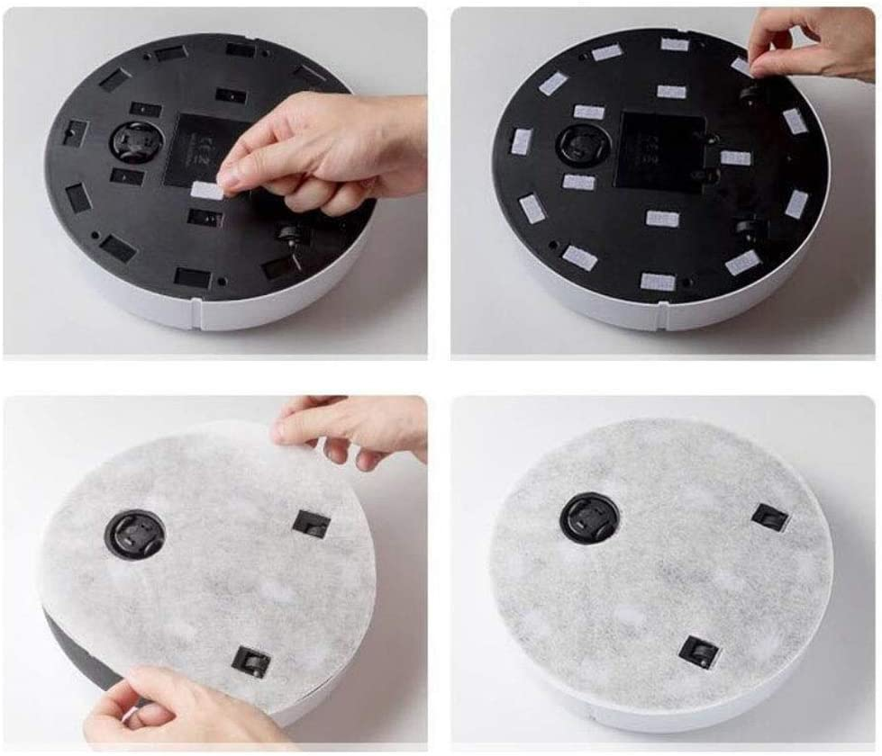 LIUCHANG Appuyez sur la Maison Intelligente de Robot de Balayage balayant et en Faisant Glisser Trois-en-Un Balayage Tous intelligents liuchang20 (Color : White) White