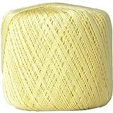 Crochet Thread - Size 10 - Color 6 - LEMONADE - 2 Sizes - 27 Colors Available