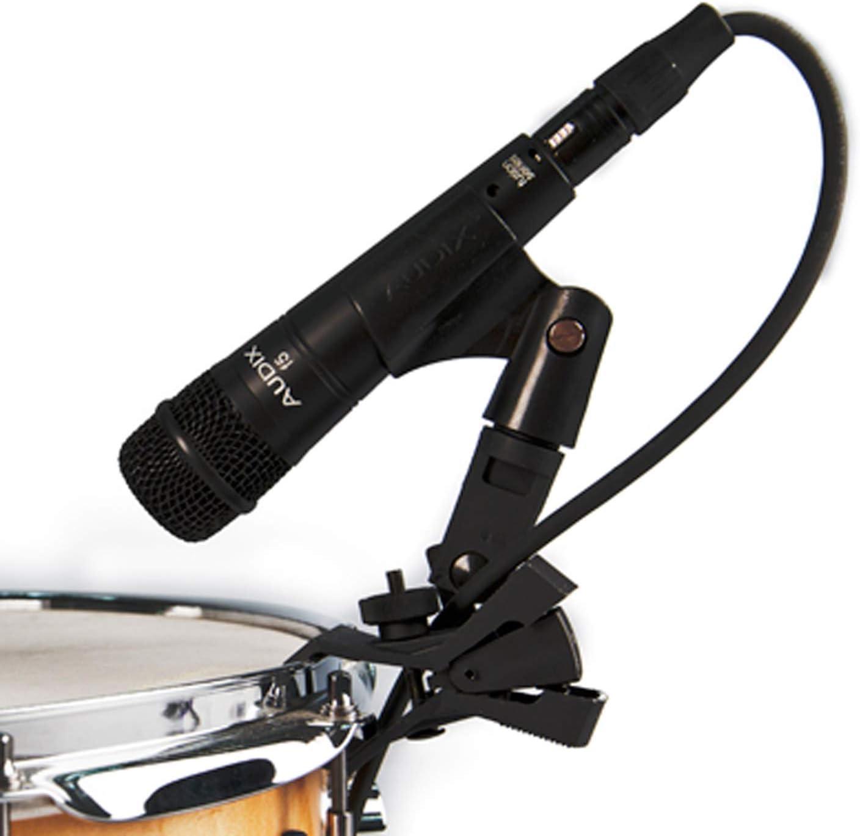 Hyper-Cardioid Black Audix F5 Instrument Dynamic Microphone