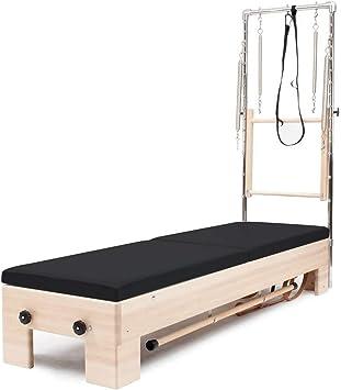 Amazon   Balance Body センターライン ピラティスリフォーマー タワーとマットシステム付き ブラックインテリア   Balanced Body   ピラティス