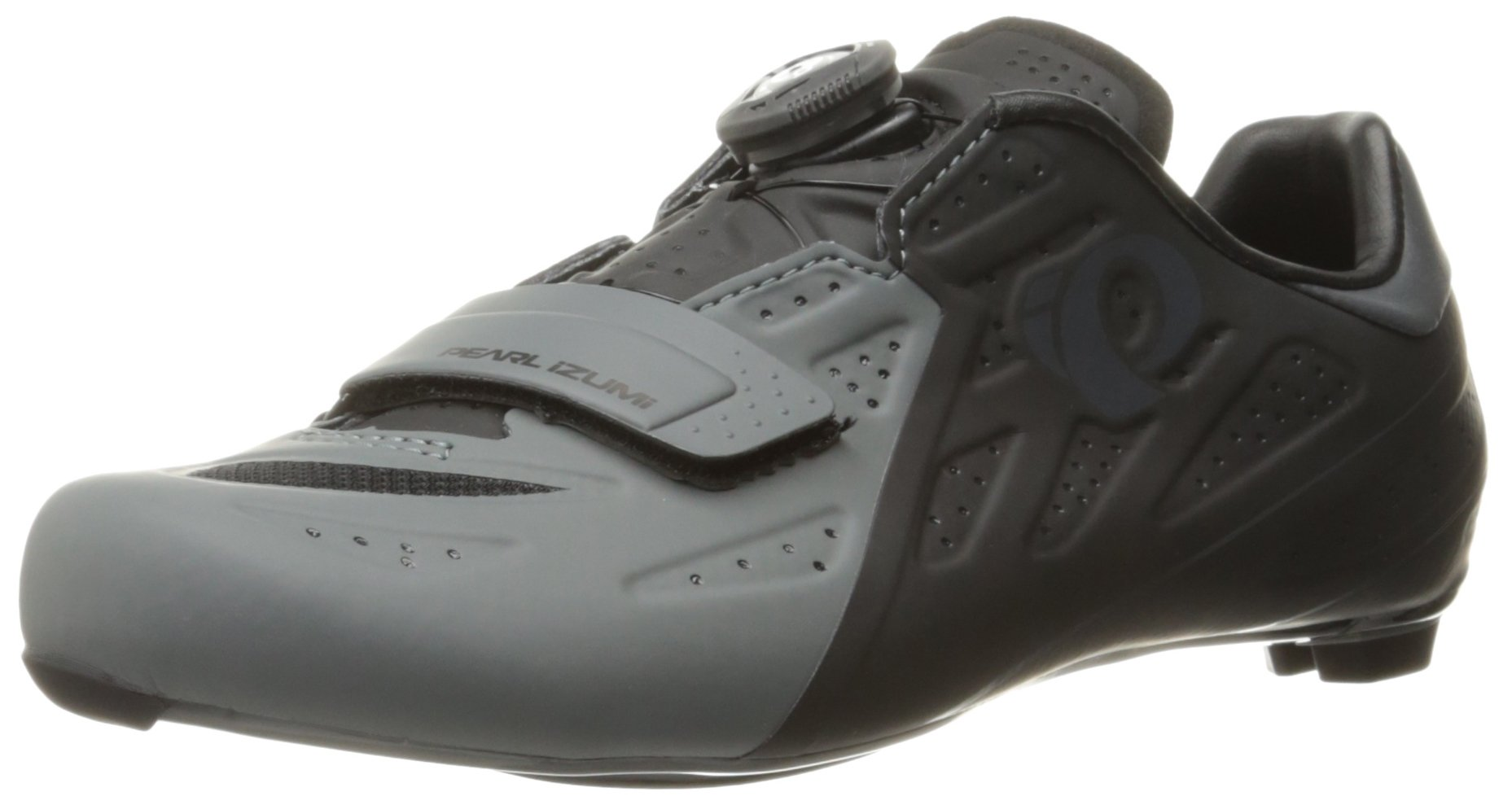 Pearl iZUMi Men's Elite Road V5 Cycling Shoe, Black/Shadow Grey, 40 EU/6.9 D US by Pearl iZUMi