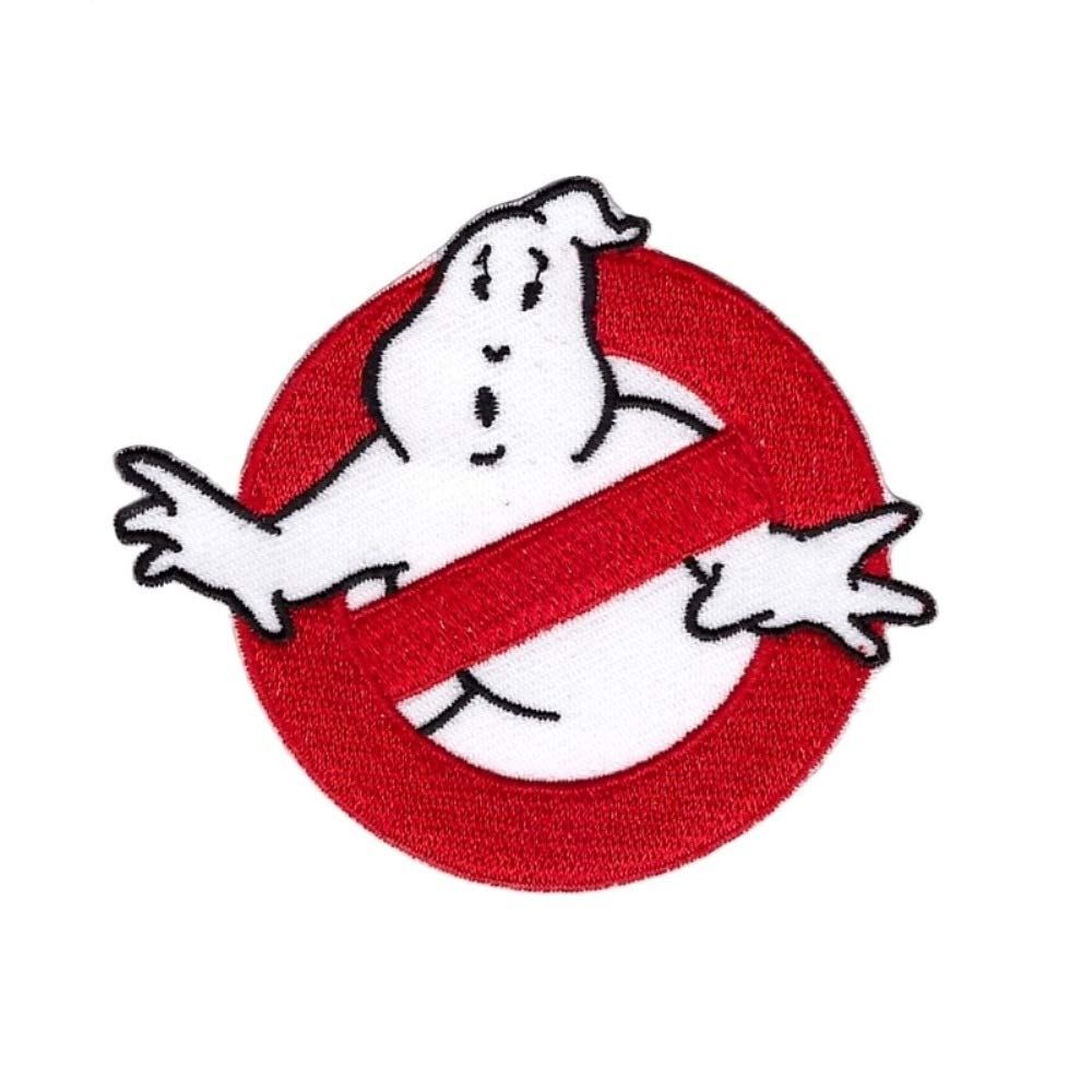Amazon com ghostbusters name patch iron on patch ghostbusters logo arts crafts sewing