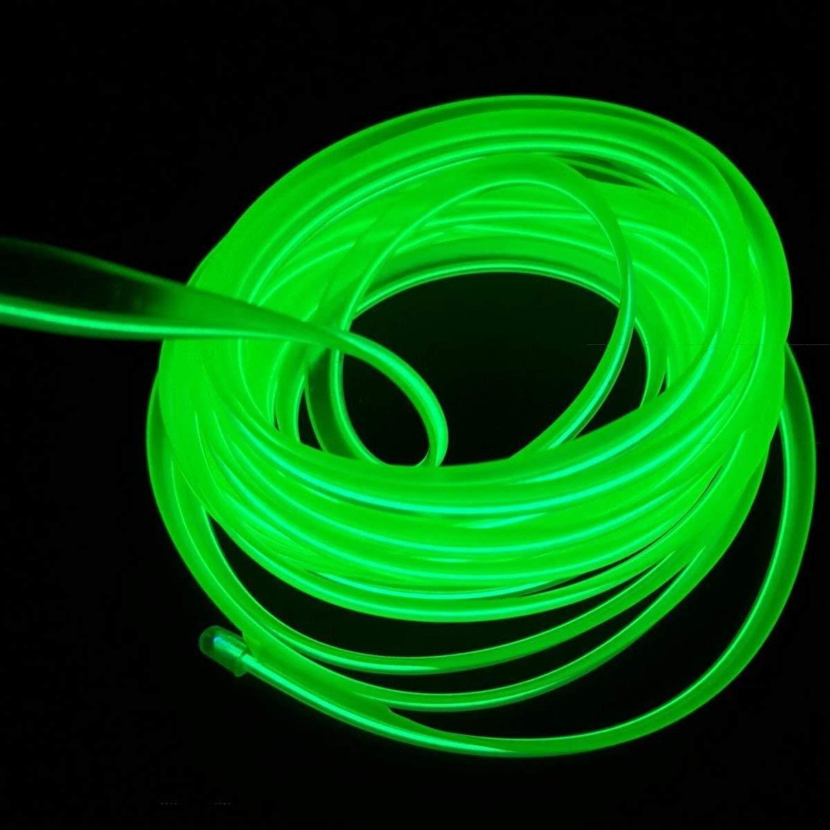 16ft per auto bianco Luci al neon El Wire 5m