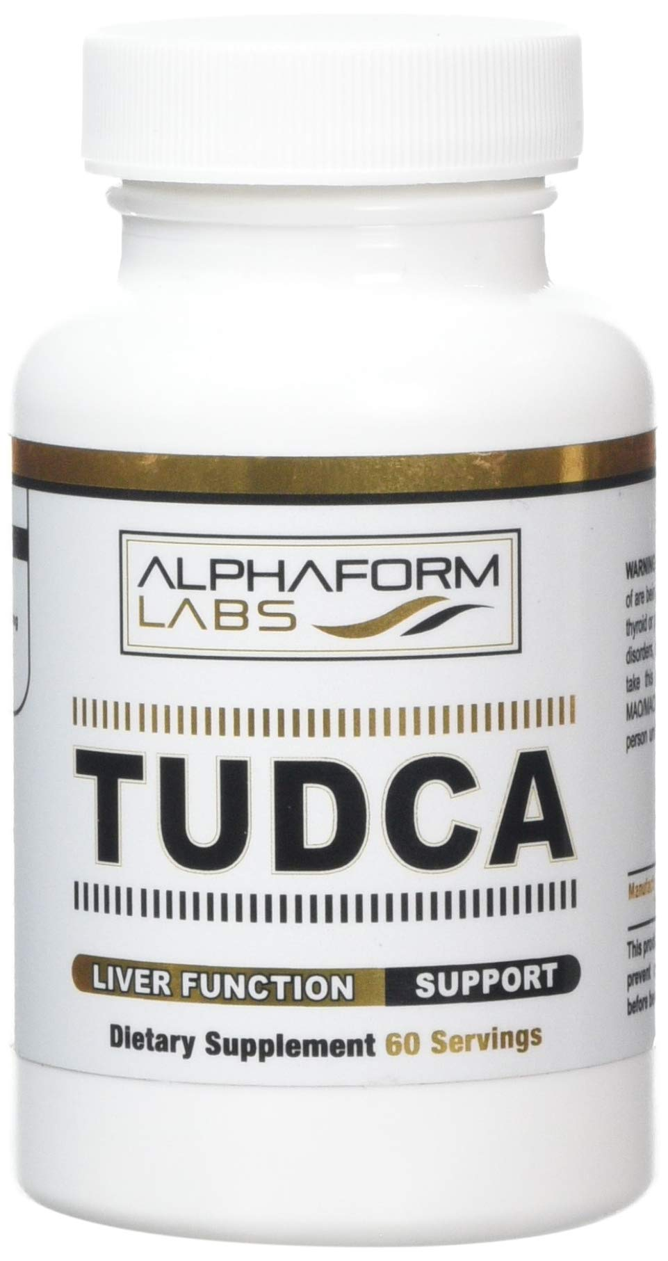 AlphaForm Labs AlphaForm Labs TUDCA High End Liver Protectant 60 Capsules
