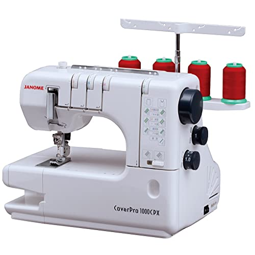 Janome Cover Pro 1000CPX Coverstitch Machine Review