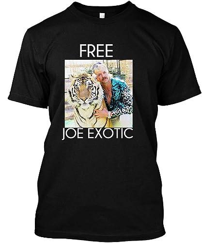 Amazon Com Free Joe Exotic Tiger King T Shirt Handmade