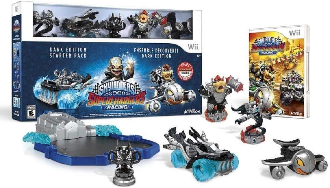 Skylanders SuperChargers Dark Edition with Exclusive Dark Bowser ...