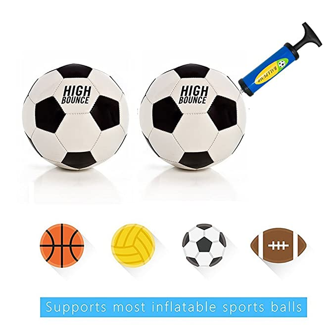 Home Inflator Ball Pump Needles Valve Adapter Set For Basketball Football Balloons Volleyball And Rugby Choice Materials