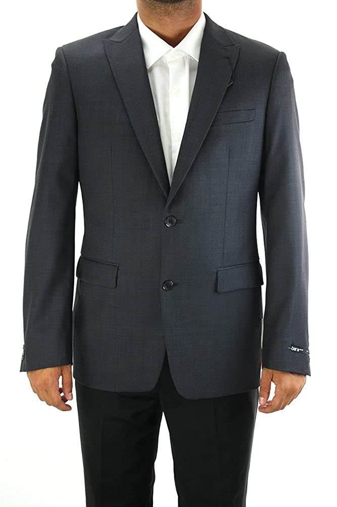 Bar III Dark Blue Pinpoint Jacket R