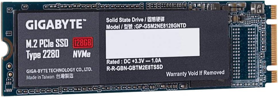 Gigabyte Technology Gpse8P128-00-G Unidad De Estado Sólido Pci ...