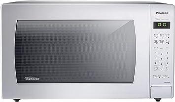 Amazon.com: Panasonic NN-SN736B Horno de microondas negro de ...