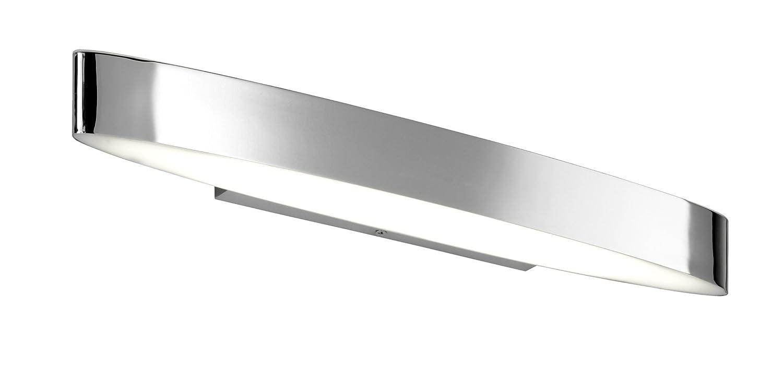 Breite 50 cm 281670206 inklusive 2 x 6W LED mit Schalter Trio Leuchten LED-Bad-Wandleuchte in Chrom
