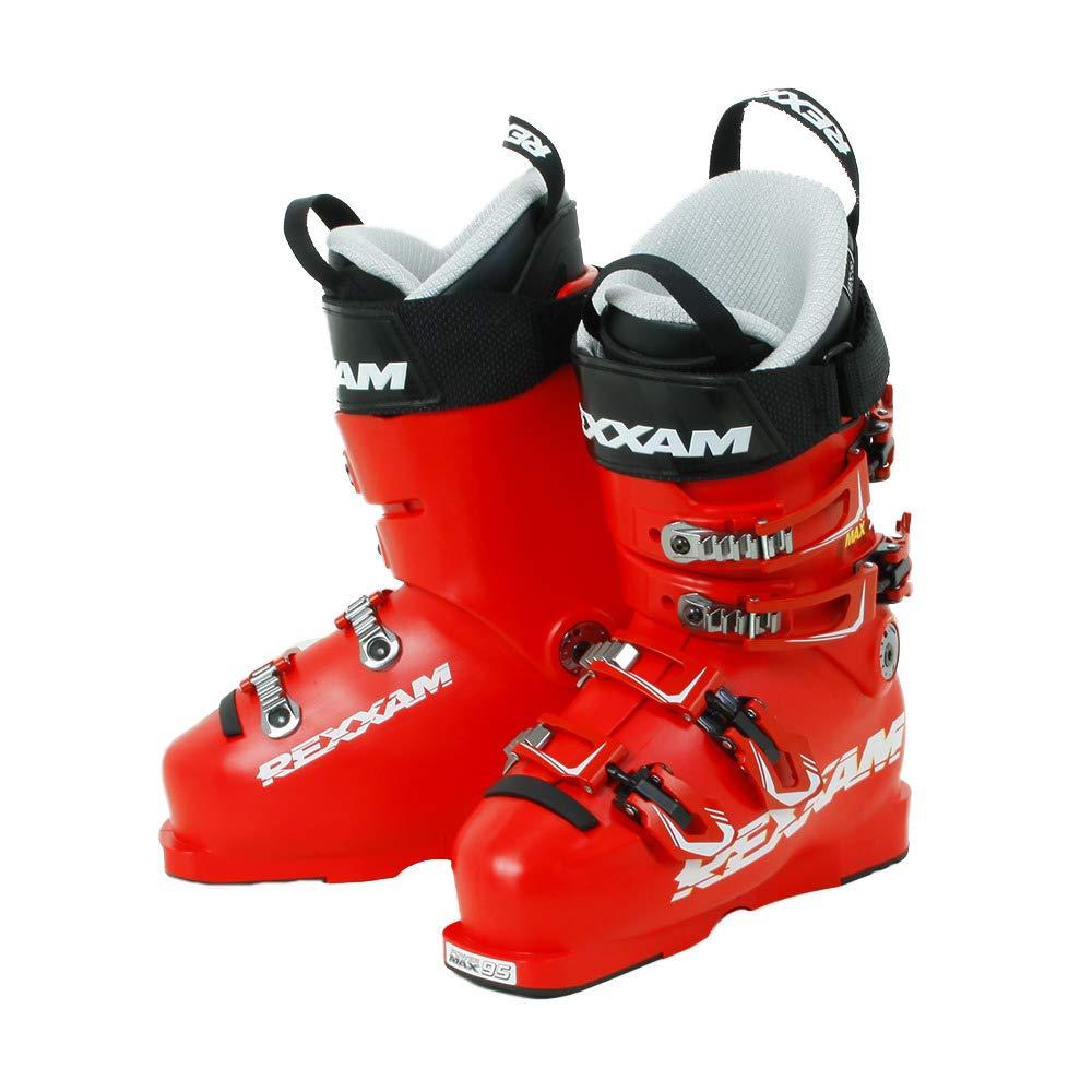 REXXAM(REXXAM) スキーブーツ 19 POWER MAX-M95 赤 無