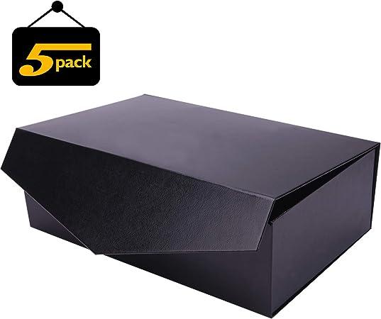 Caja de regalo plegable con cierre magnético, caja de regalo con ...