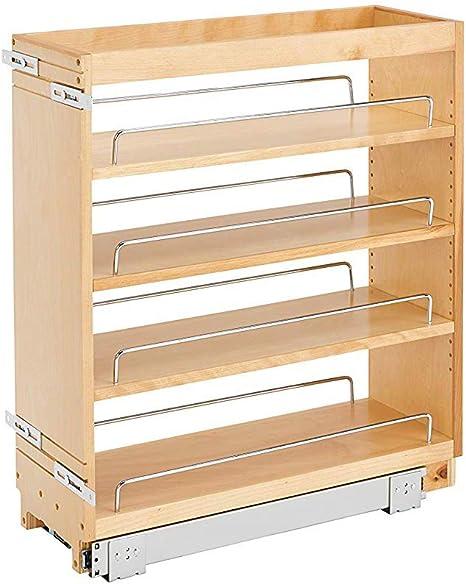 Rev A Shelf 448 Bc 8c 8 Pullout Wood Kitchen Cabinet Organizer Rack Maple Amazon Ca Home
