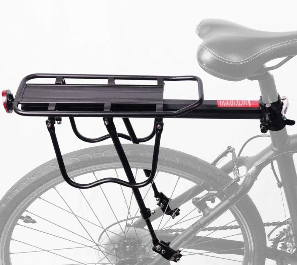Alu Fahrrad Gepäckträger Träger Hinten Fahrradsitzträger MTB Bike Mountainbike