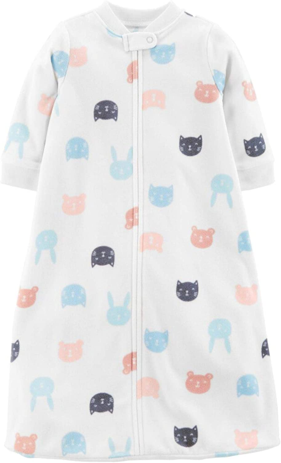 White Medium Carters Baby Boys Elephant Sleep Bag New in Original Package.