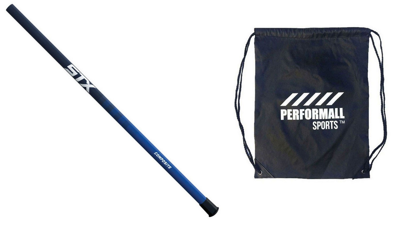 STX Women 's Compositeラクロスシャフトとひも1 performallスポーツバッグ B06XGW37R9 Parent ネイビー - ブルー 1-Pack
