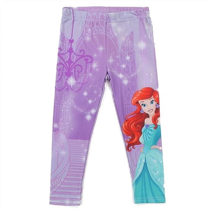 05fb5cd5e6092b Amazon.com: Disney Princess Toddler Girls Ariel The Mermaid Leggings ...