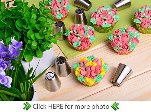 25-pcs Cake decorating patterns