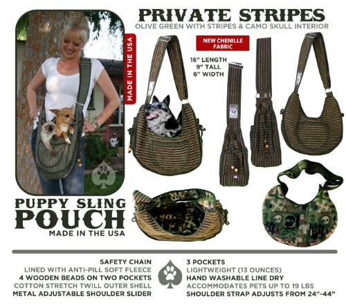Puppy Pouch Private Stripes