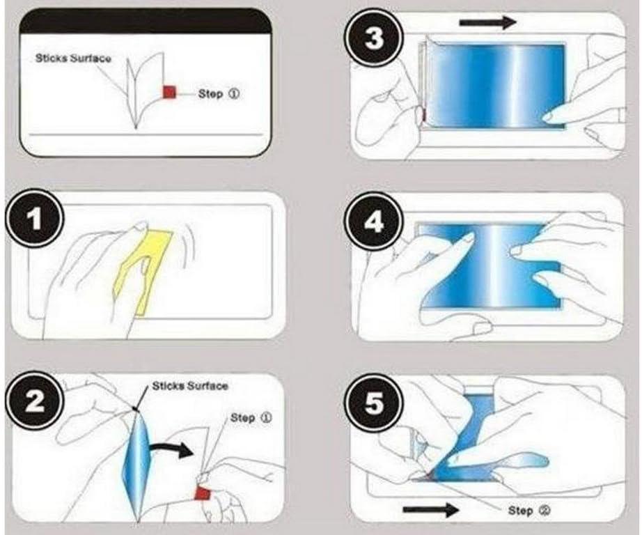 for LG h340/N Leon 4G Anti-Glare Anti-Fingerprint 3x screen protector film Matte
