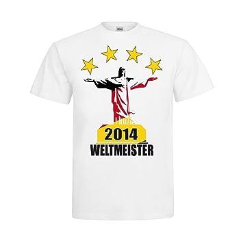 MDMA T-Shirt Germany 2014 World Cup Champions, Four Stars Jesus ...