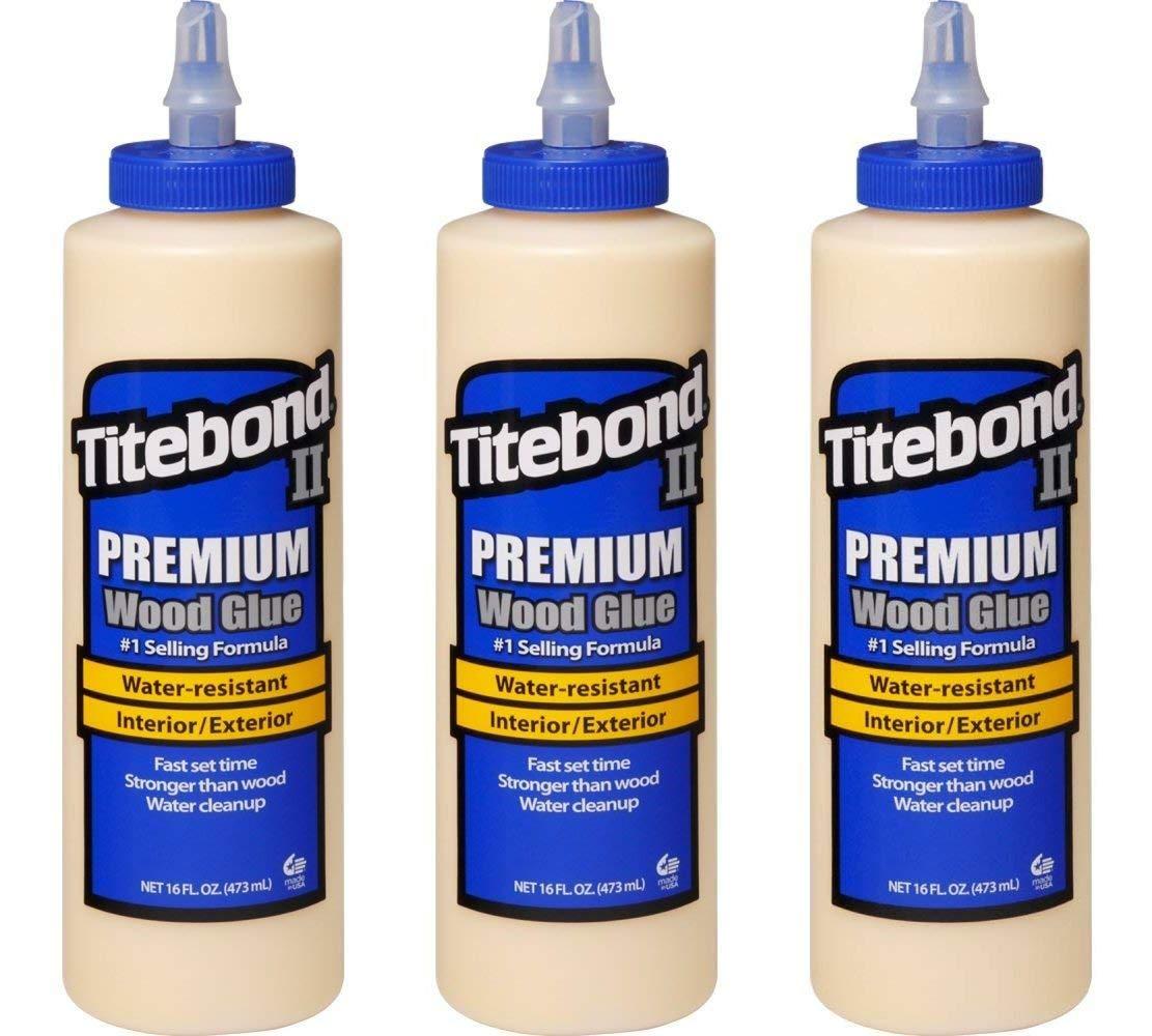 Titebond 5004 II Premium Wood Glue, 16-Ounces (Тhree Pаck)