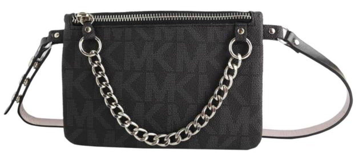 Amazon.com  Michael Kors MK Fanny Pack Belt With Pull Chain e089950f5d35d
