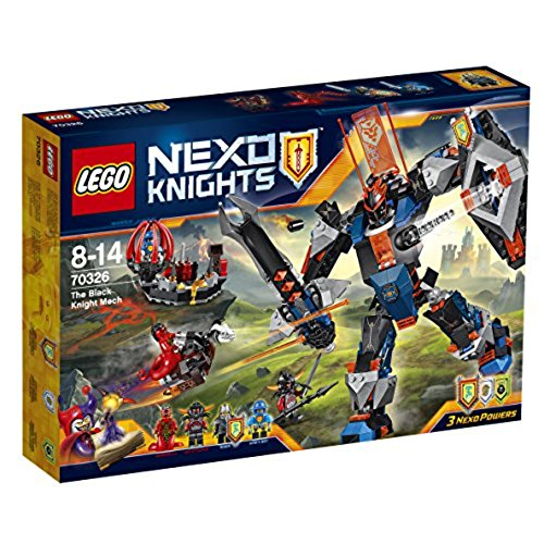 Lego NEXO Knights Knight Mech 70326 il nero