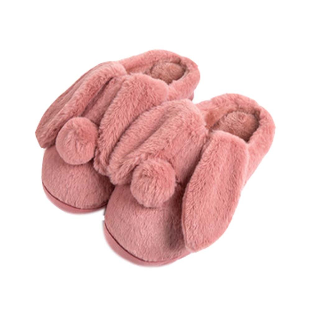 Women Plush Slippers Winter Cartoon Indoor Slippers Household Slippers RED Panda Superstore PS-BEA11063681-SUE00585