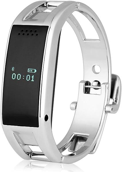 Excelvan OLED, Reloj Bluetooth Smartwatch (Sync llamadas SMS ,Música, Recordatorio, Anti-pérdida) Para Android Smartphone: Amazon.es: Electrónica