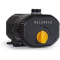 Waldbeck Nemesis T90 Bomba de agua - Bajo consumo, 90 W de potencia, Máx. 4 m de altura de extracción, Protección IPX8 muy seguro, Caudal de 6.200 L/h, Cable de 10 m, 2,4 Kg, Negro