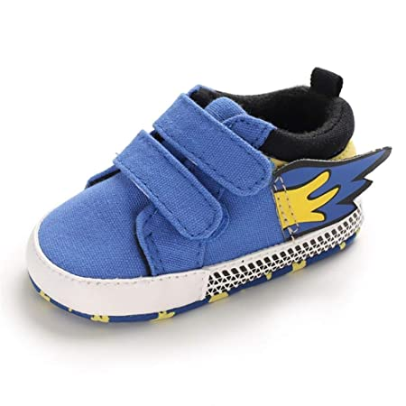 YI-WAN 0-1 año Niños Niñas Zapatos de bebé Suela Suave Paño ...