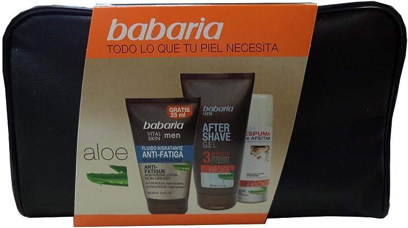 Babaria Babaria Men Vital Skin Antifatiga Lote 4 Pz 1 Unidad 200 g ...