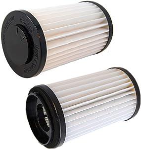 ZAITOE 2 Pack HEPA Allergy Vacuum Cleaner Filter fits Kenmore DCF-1 DCF1 DCF2 20-82720 82912